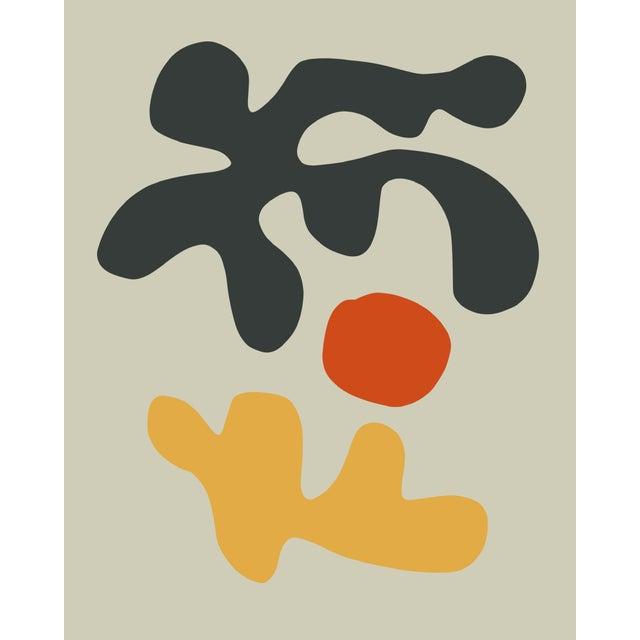 Henri Matisse Winding 07 Black Print, Framed For Sale - Image 4 of 5