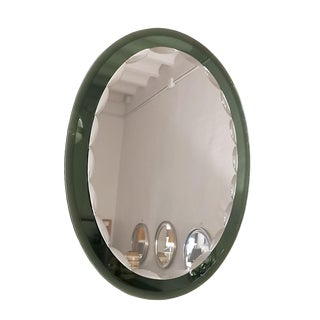 1960´s Beveled Mirror With Beveled Mirror Frame - Italy For Sale