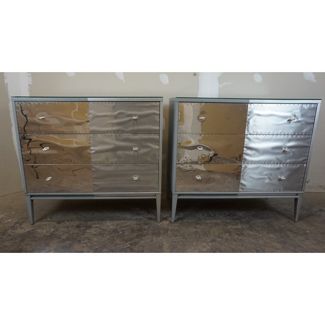 Paul McCobb Planner Group Brutalist Revision Dressers - A Pair For Sale - Image 10 of 10