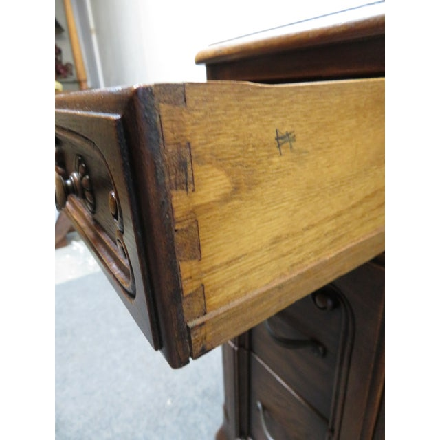 Louis XV Style Carved Oak Vanity For Sale - Image 4 of 11