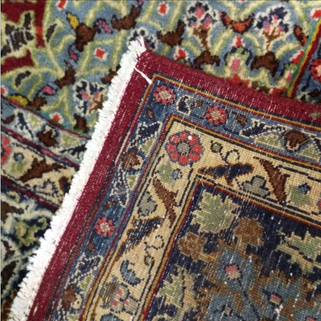Large Traditional Persian Rug - 12′4″ × 9′6″ - Image 9 of 11