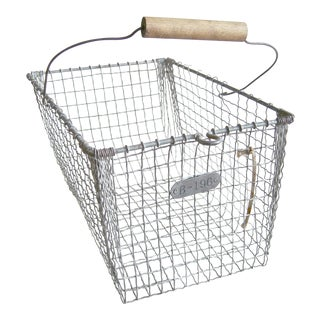Vintage Gym Locker Basket