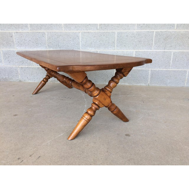 Cushman Colonial Maple Coffee Table For Sale - Image 5 of 11