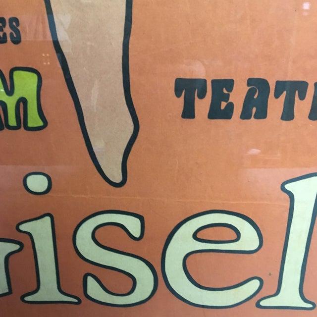 "Orange 1968 ""Giselle"" Ballet Poster by Jan Młodożeniec, Framed For Sale - Image 8 of 11"