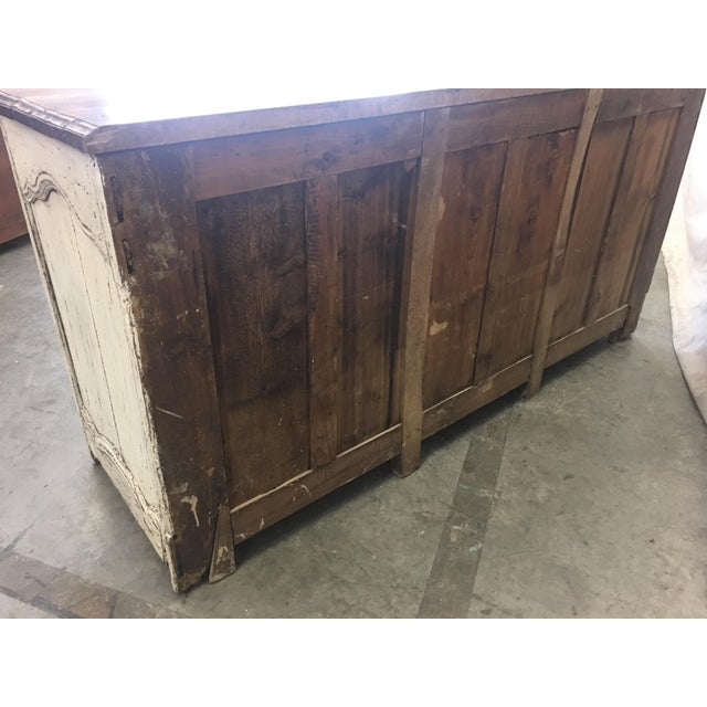 18th C French Provencal Three Door Painted Enfilade Sideboard For Sale - Image 11 of 13