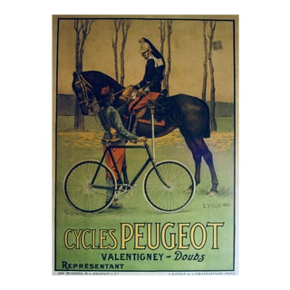 Vintage Peugeot Army Poster