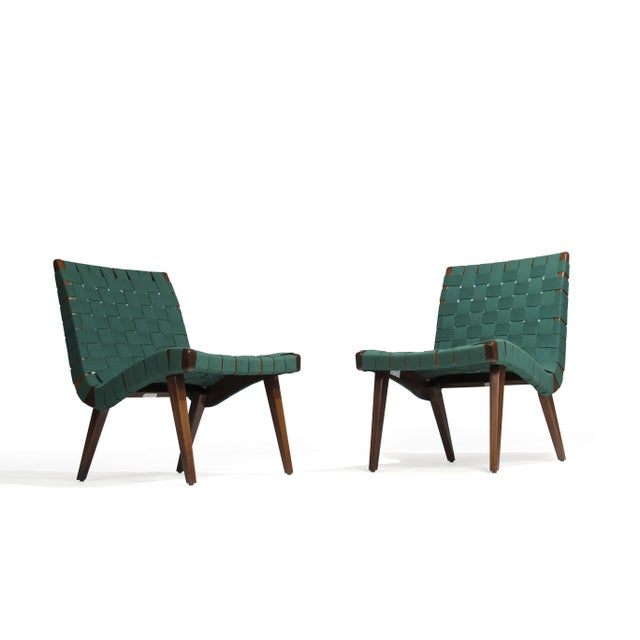 Jens Risom for Knoll Studio Lounge Chairs For Sale - Image 11 of 11