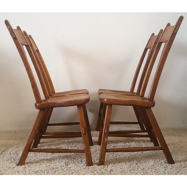 Sikes Furniture Chairs From 1939 - Set of 4 - Image 10 of 10