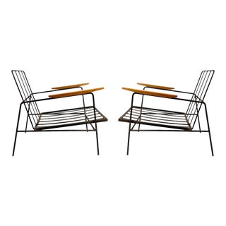 Vintage Modern Richard McCarthy Lounge Chair Frames- a Pair For Sale