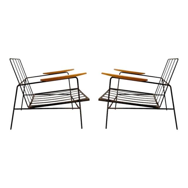 Vintage Modern Richard McCarthy Lounge Chair Frames- a Pair For Sale