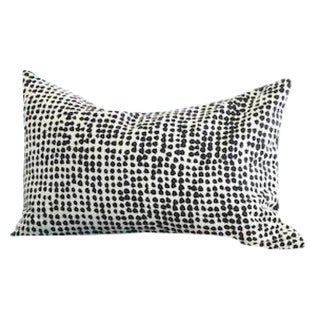 Marimekko Black and Off White Pillow