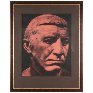 Original Xerography Print of Busts From Antiquity V For Sale