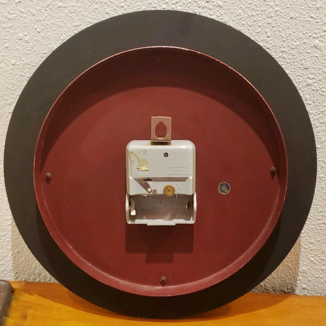 Atlanta Electric Wall Clock For Sale - Image 4 of 6