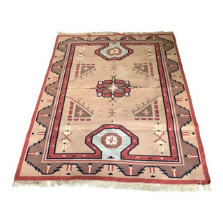 Paraguay Patterned Rug - 4′4″ × 6′