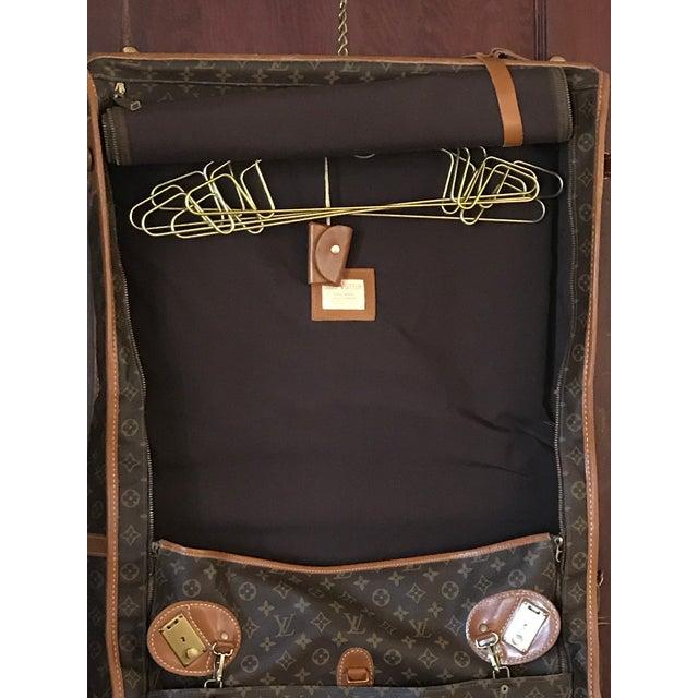 Brown 1970s Vintage Louis Vuitton Garment Bag For Sale - Image 8 of 13