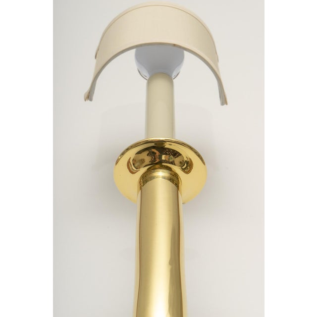 1930s Art Deco Brass Sconces - a Pair For Sale - Image 5 of 13