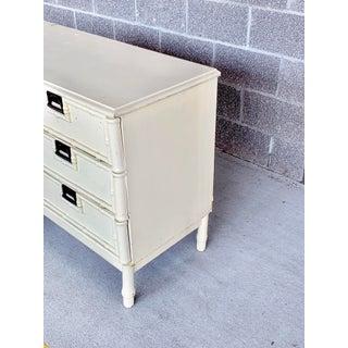 Vintage Stanley Faux Bamboo Six Drawer Dresser Preview
