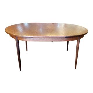 "Vintage ""G-Plan"" Teak Dining Table W/ Butterfly Leaf C.1960s For Sale"