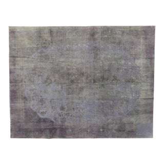 Vintage Turkish Rug With Modern French Industrial Style - 09'04 X 12'00 For Sale