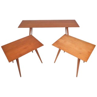 Midcentury Coffee Table Set by Paul McCobb For Sale