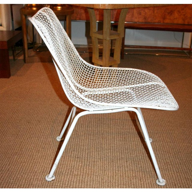 Cottage Woodard Jet Age Wire Mesh Outdoor Chairs - Set of 24 For Sale - Image 3 of 10