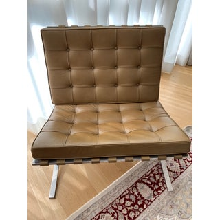 Vintage Mid Century Knoll Barcelona Chairs- A Pair Preview