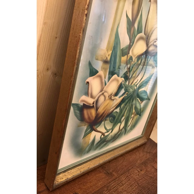 Paper Mid Century Lotus Botanical Print by Ted Mundorff For Sale - Image 7 of 11