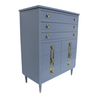 John Stuart Lacqurered & Brass Chest