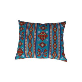 Southwestern Turquoise Pillows - Pair For Sale