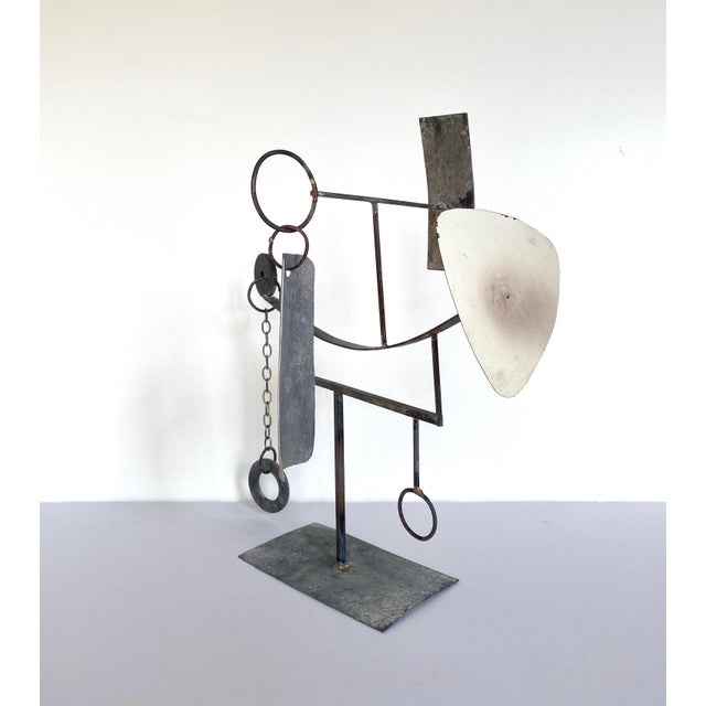 Mid 20th Century Mid-20th Century Modernist/Constructivist Sculpture For Sale - Image 5 of 7