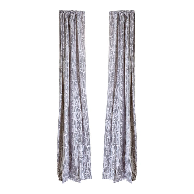 """Pepper Haworth 50"""" x 84"""" Blackout Curtains - 2 Panels For Sale"""