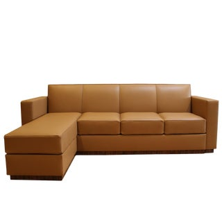 Ziricote 4-seater Sofa With Chaise For Sale