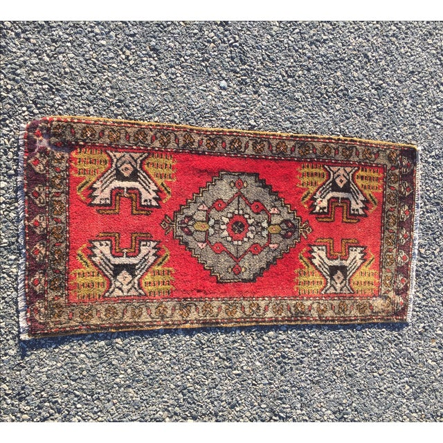 Anatolian Persian Rug - 1'6'' x 3'5'' - Image 2 of 9