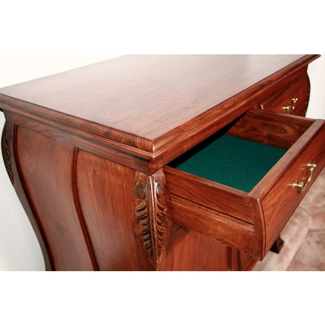 Aurora Solid Rosewood Commode - Image 8 of 8