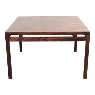 Mid-Century Rosewood Coffee Table For Sale