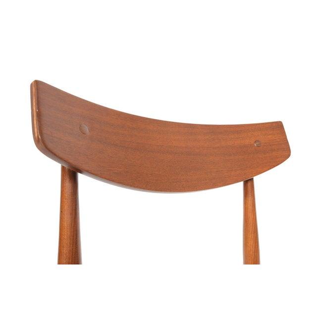 Oak Ib Kofod- Larsen for G Plan Teak Dining Chairs - Set of 6 For Sale - Image 7 of 8