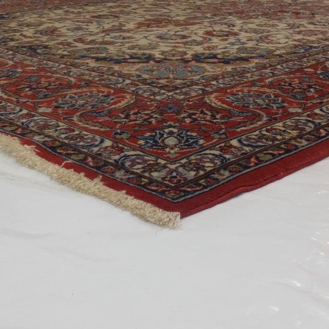 "Leon Banilivi Persian Isphahan Carpet - 5'3"" x 8' For Sale - Image 5 of 5"