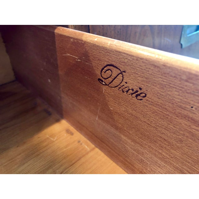 Brass Dixie Campaigner Six Drawer Dresser For Sale - Image 7 of 9