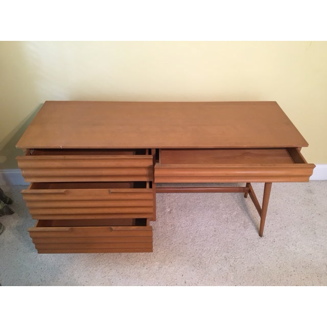 1950's Danish Modern Style Study Desk - Image 3 of 6