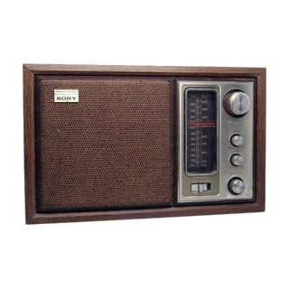 Old Sony FM/AM Radio