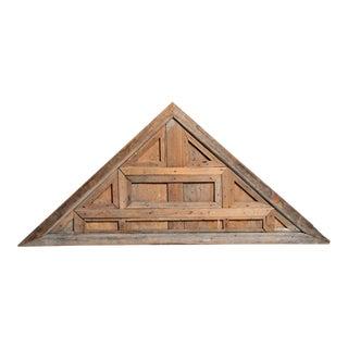 19th Century Thai Teakwood Pediment For Sale