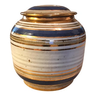Tyrone Larson Pottery Jar For Sale