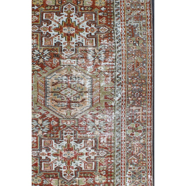 1930s Semi Antique Karadjeh Rug - 2′11″ × 4′5″ For Sale - Image 4 of 11