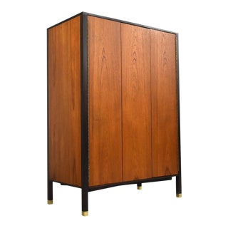 Harvey Probber Teak Armoire Dresser For Sale