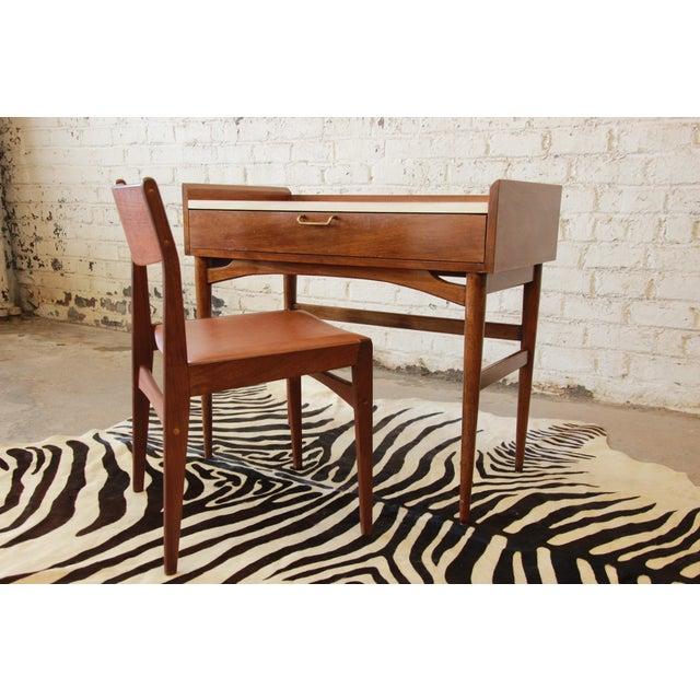 Merton Gershun Mid-Century Modern Desk - Image 8 of 11