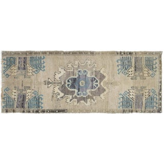 "1960s Turkish Oushak Yastik - 1'8"" X 4'3"" For Sale"