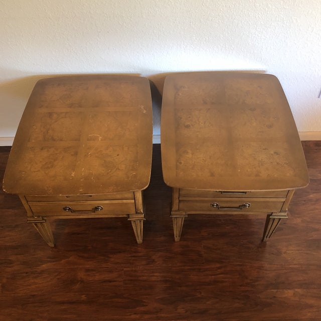 Mid 20th Century Lane Mid-Century Modern Side Tables - A Pair For Sale - Image 5 of 13