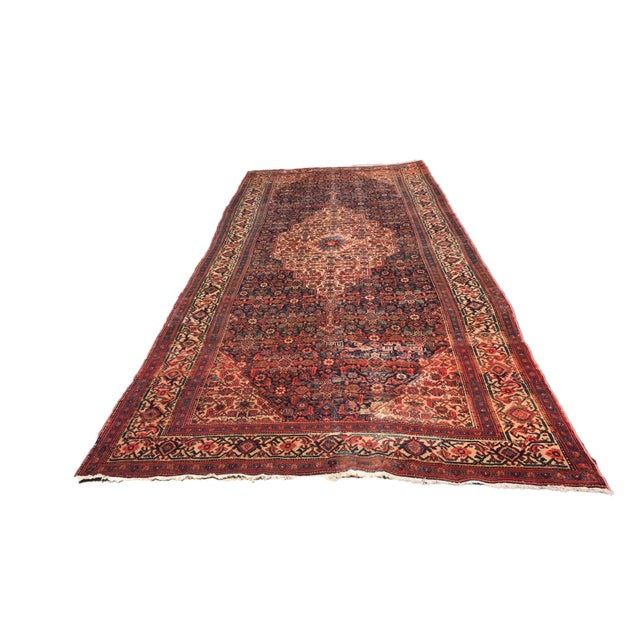 Superb rare 19th century palace size fereghan saruk carpet, southwest persia, centered w/ a large medallion in the elegant...