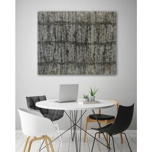 Gallery-wrapped painted canvas sides. Abstract acrylic painting on canvas. Ready to Hang. Framing optional. Signed by...