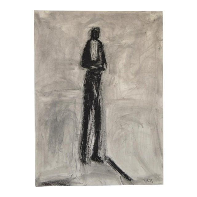 Charcoal & Pastel on Paper by Arthur J. Krakower - Image 1 of 5